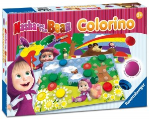 ZABAWKA EDUKACYJNA MASHA AND THE BEAR COLORINO RAVENSBURGER