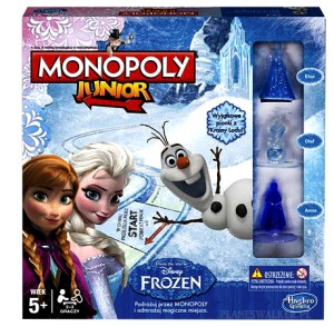 MONOPOLY JUNIOR FROZEN DISNEY