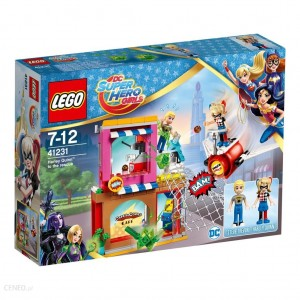 LEGO SUPER HERO GIRLS  41231 HARLEY QUINN NA RATUNEK